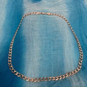 High-Polished .925 Sterling Silver Chain For Men